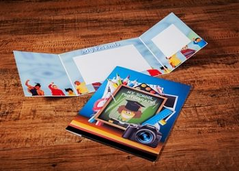 School Photo Trifold Leaflets