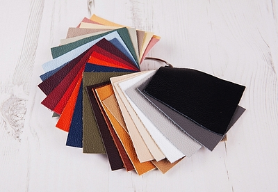 Genuine Leather Photo Album Swatches