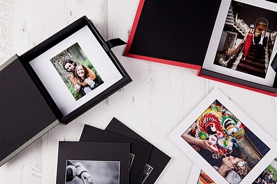 Portfolio & Presentation Photo Boxes
