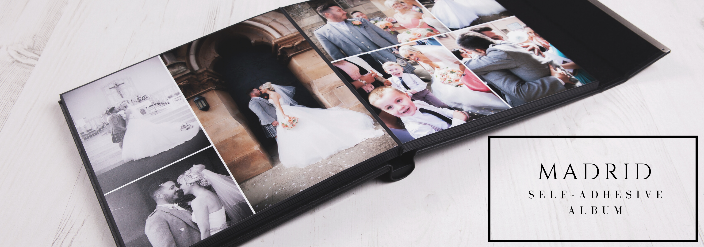 Madrid Self Adhesive Photo Albums