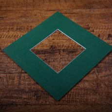 Bottle Green Mount Board