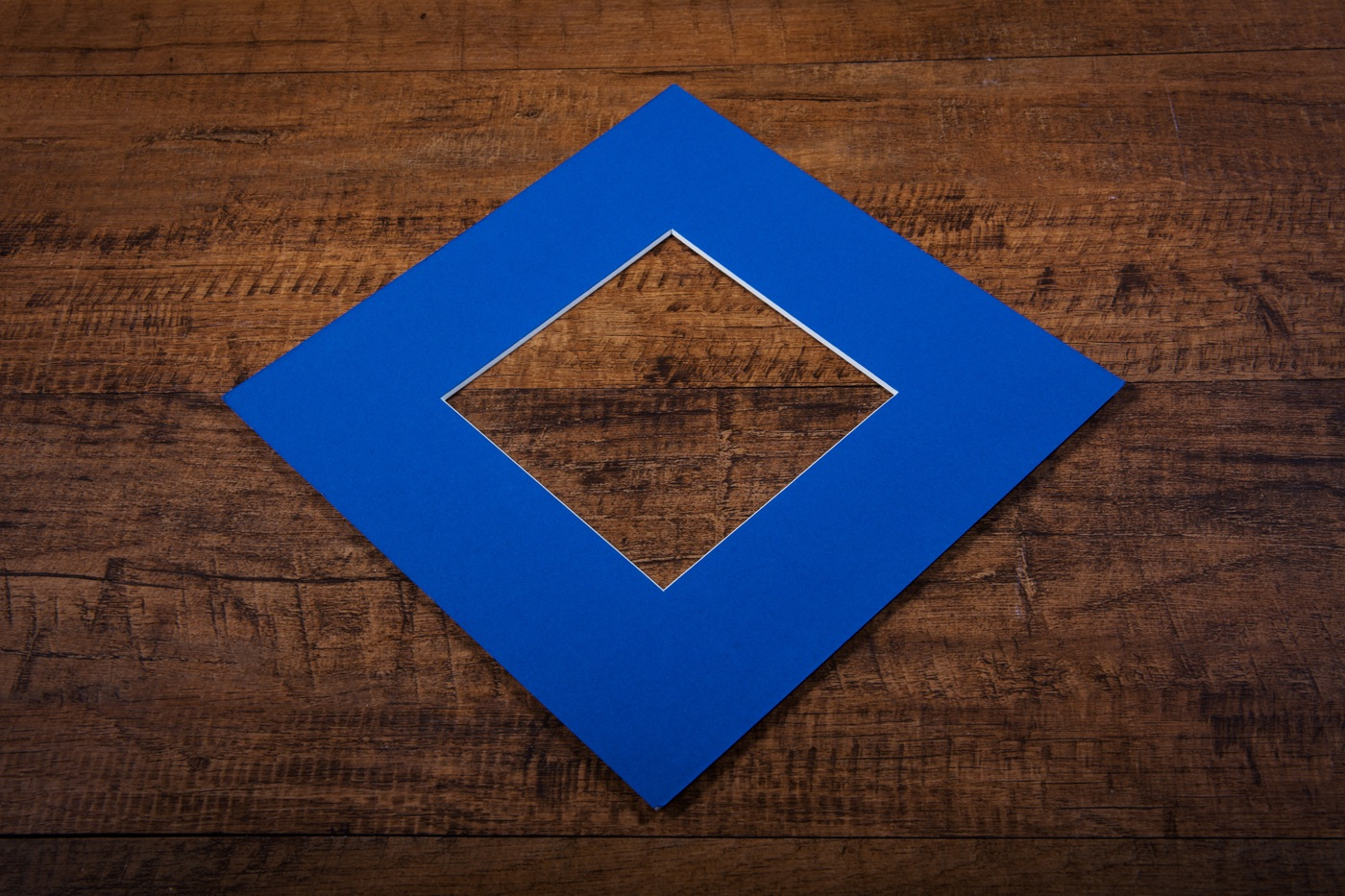 Cobalt Blue Mount Board
