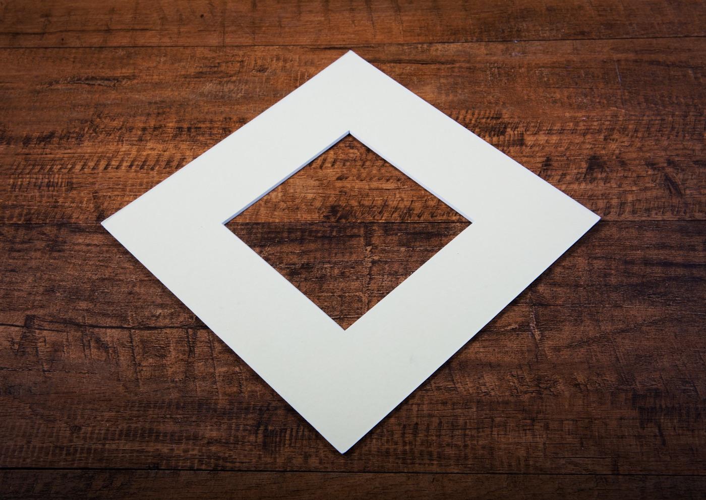Polar White Mount Board
