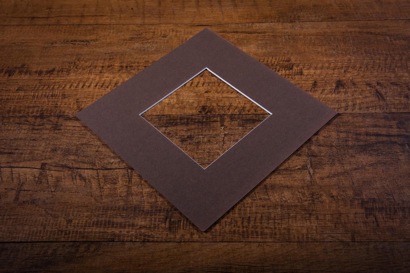 Sepia Mount Board