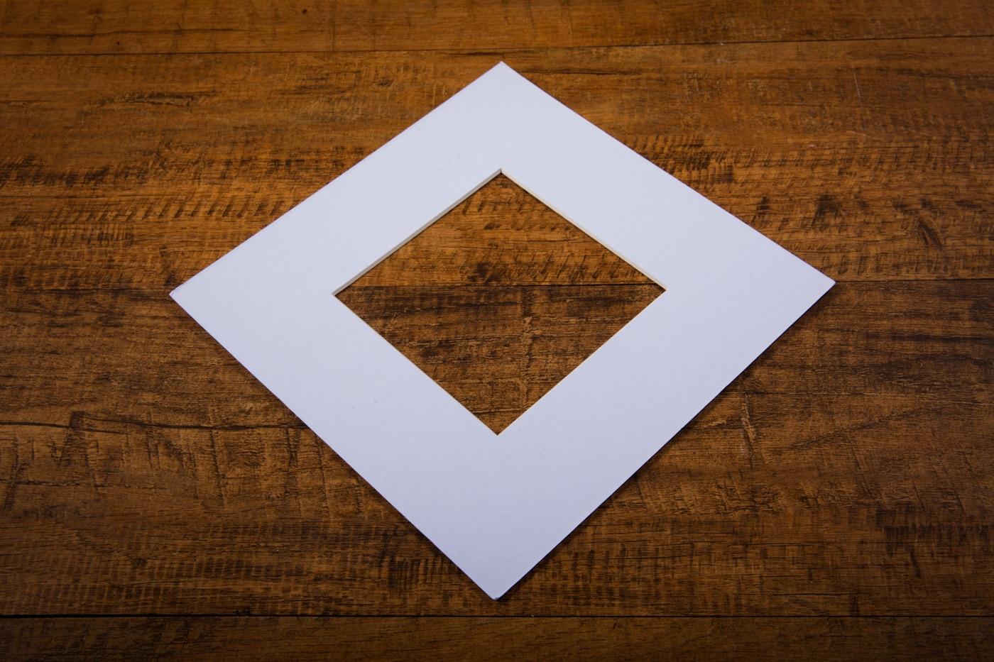 White Mount Board